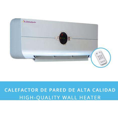 Radiateur Soufflant Easy2020 Argent • CHAUFFAGE RAPIDE • Affichage LED Numérique (4 Couleurs) �