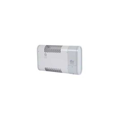Radiateur soufflant mural timer 1000 W