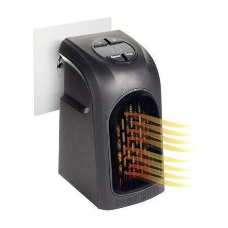Radiateur soufflant pour prise de courant Livington M13753 M13753 20 m² noir 1 pc(s)