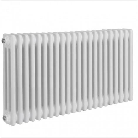 Radiateur traditionnel rond 3 colonnes Verona, 300 x 990 mm, blanc