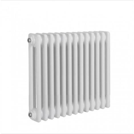 Radiateur traditionnel rond à 2 colonnes Verona, 300 x 1170 mm, blanc