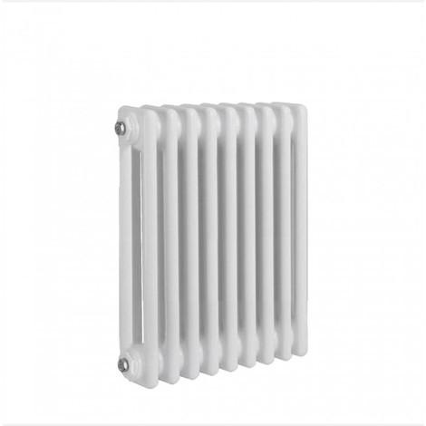 Radiateur traditionnel rond à 2 colonnes Verona, 300 x 765 mm, blanc