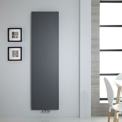 Radiateur Vertical Design Plat – Anthracite – 180 x 50cm – Rubi