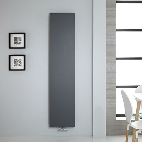 Radiateur Vertical Design Plat – Anthracite – 182 x 40cm – Rubi
