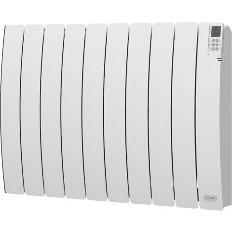 Radiateurs inertie fluide - Modèle RUBINO 1800W - Ecran LCD avec télécommande - Détection fenêtre ouverte