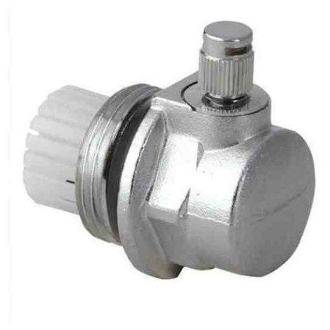"Radiator Auto Automatic Air Vent 1"" (G1 Inch) Cut-Off Valve Left Thread"