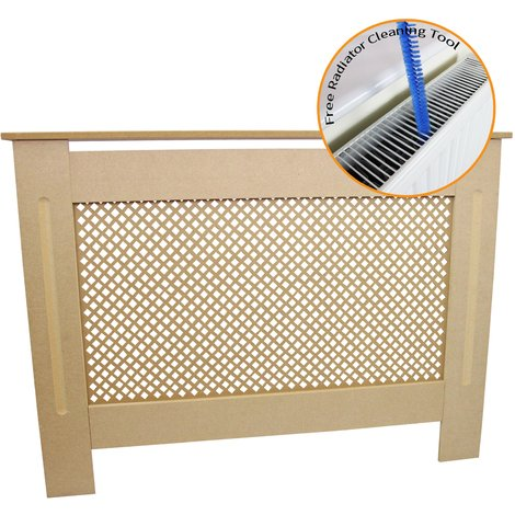 Radiator Cover MDF Unfinished 1115mm