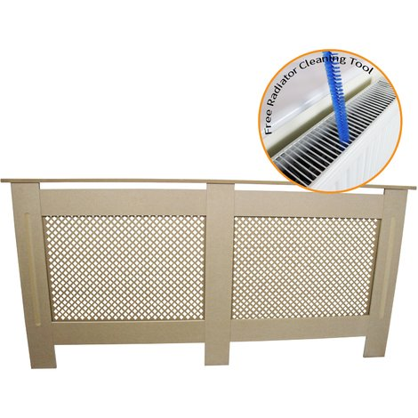 Radiator Cover MDF Unfinished 1720mm