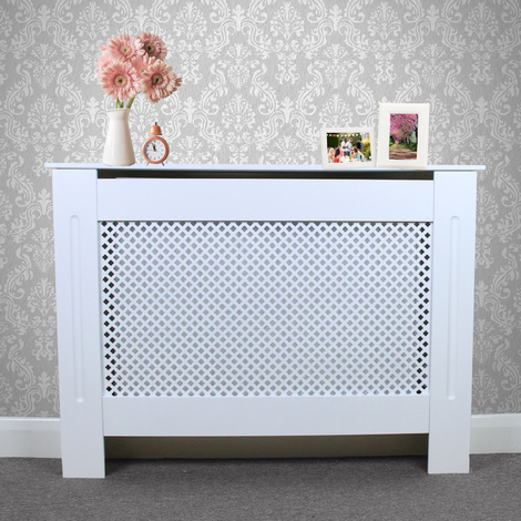 Radiator Cover MDF White 1115mm