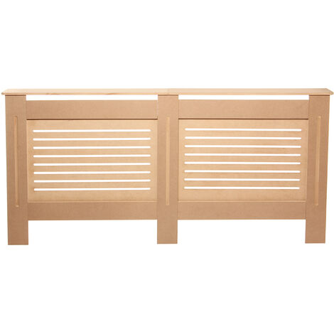 Radiator Cover MDF Wood Heating Wall Cabinet Shelf