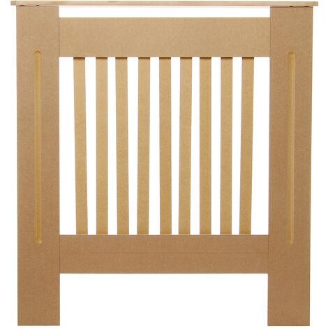 Radiator Cover MDF Wood Heating Wall Cabinet Shelf Size XL