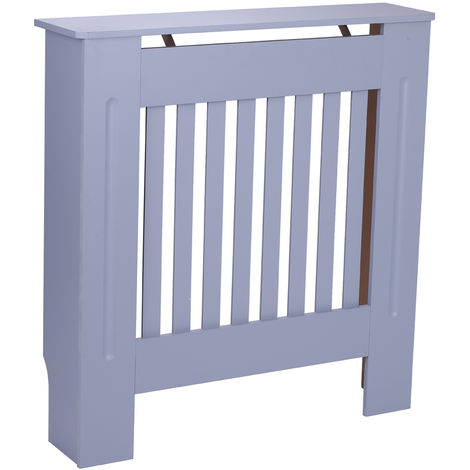 Radiator Cover Painted Slatted Cabinet MDF Lined Grill - Different colours