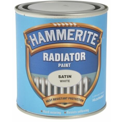"main image of ""Hammerite - Radiator Enamel Metal Paint - Satin, Gloss, Standard, Quick Dry"""