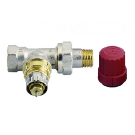 Radiator valves and fittings - Straight adjusting body - Choose size
