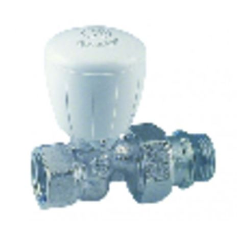 Radiator valves and fittings - Straight valve R422TG 1/2 - GIACOMINI : R422X133