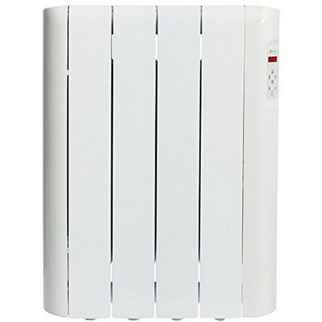 Radiatore Elettrico Digitale a Fluido (4 elementi) Haverland RCE4S 600W Bianco