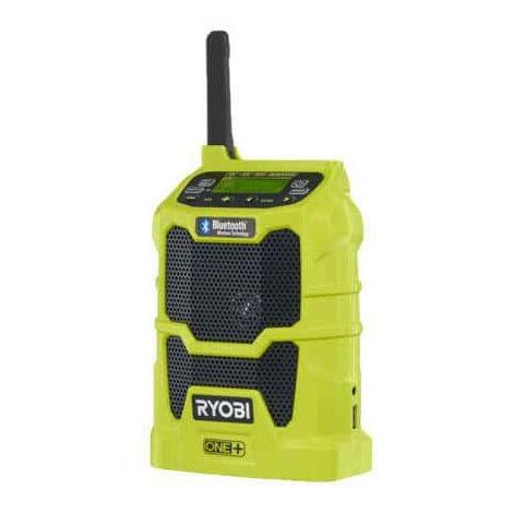 Radio bluetooth RYOBI AM/FM 18V OnePlus - sans batterie ni chargeur R18R-0