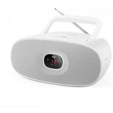 radio cd portable blanc - md202rdw - muse
