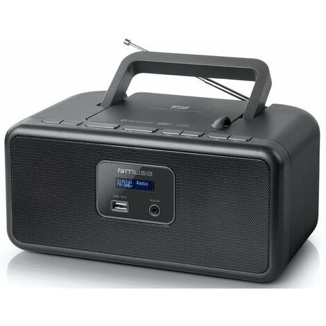 radio cd portable noir - m32db - muse