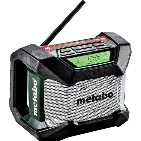 Radio chargeur R 12-18 BT Pick+Mix METABO (sans batterie ni chargeur) - 600777850