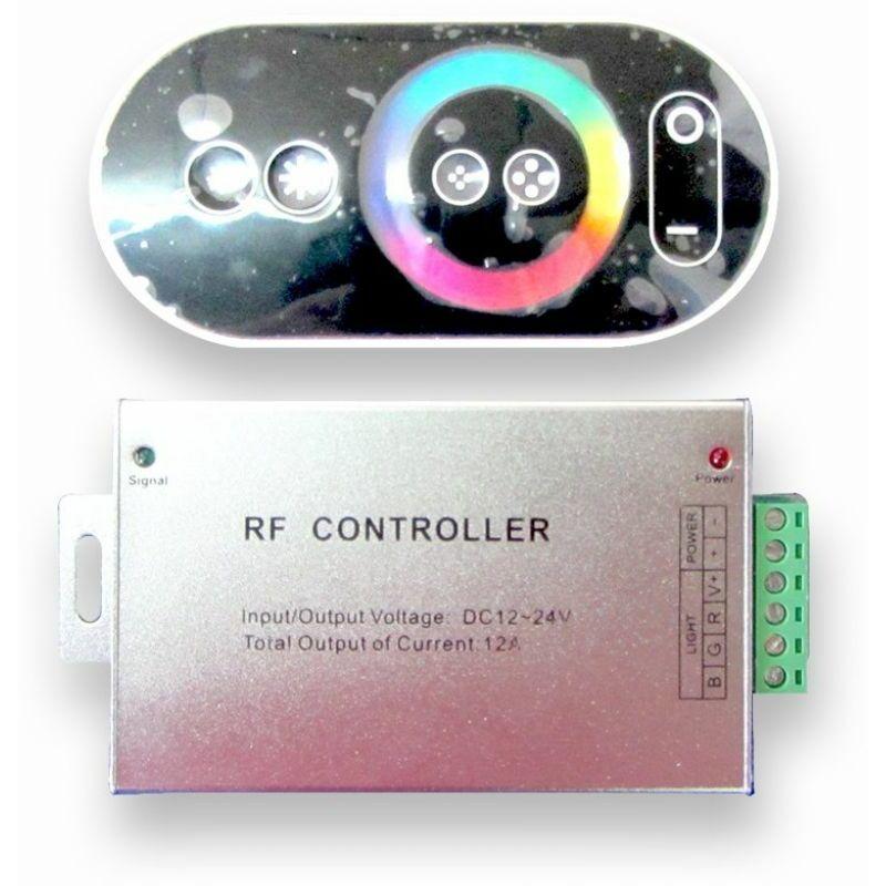 VT-2405 Controller RF per strip LED RGB con telecomando touch - SKU 3312 - V-tac