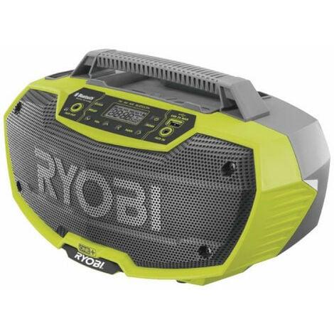 Radio d'atelier RYOBI stéréo 18V OnePlus - sans batterie ni chargeur R18RH-0