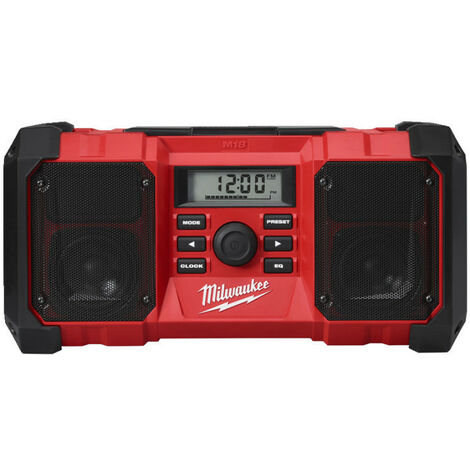 Radio de chantier 18 Volts M18 JSR-0 (4933451250)