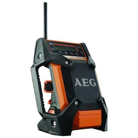 Radio de chantier AEG 12V-18V DAB+ USB sans batterie ni chargeur BR 1218C-0