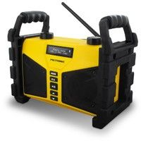 Radio de chantier Bluetooth 20 W avec port USB