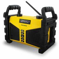 Radio de chantier Bluetooth 20 W avec port USB