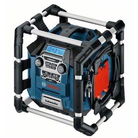 Radio de chantier + chargeur de batterie intégré BOSCH 14,4 V - 18 V - GML 20 Professional - 06014297W0