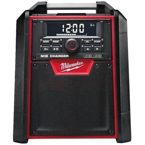 Radio de chantier chargeur M18 RC-0 (machine seule)   4933446639 - Milwaukee