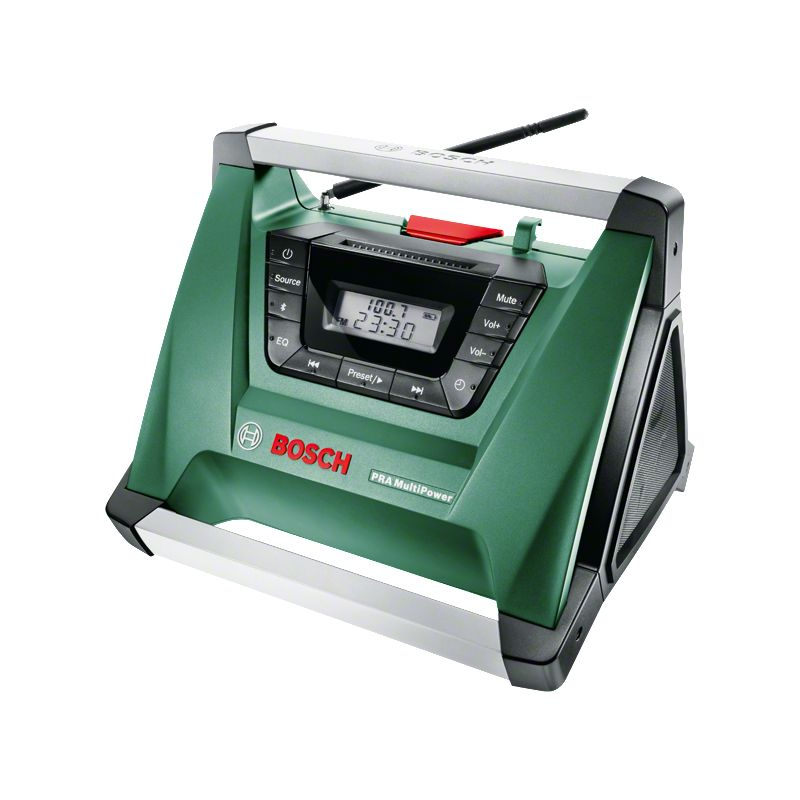 Radio de chantier sans fil Bosch - PRA Multipower avec Bluetooth (Livr