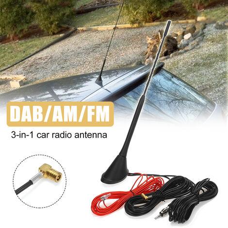 Radio de toit automatique universelle de voiture AM / FM + amplificateur d'amplificateur de Signal de mat d'antenne d'antenne d'antenne de voiture DAB active