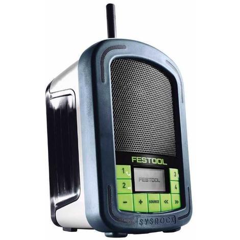 Radio para obras BR10 SYSROCK Festool
