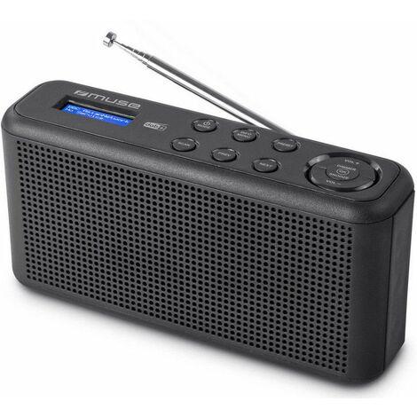radio portable noir - m102db - muse