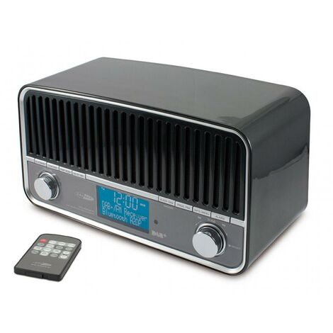 Radio retro DAB+ FM Bluetooth sans fil