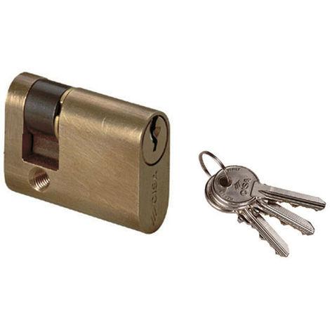 5X 18.5mm Thread Metal Tubular Cam Lock for Cabinet Drawer Tool Box G6B9