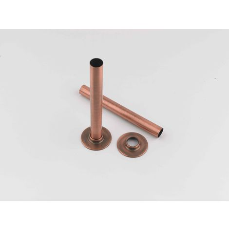 Rads 2 Rails Antique Copper Pipe Sleeve With Bezels