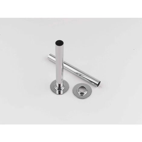 Rads 2 Rails Chrome Pipe Sleeve With Bezels