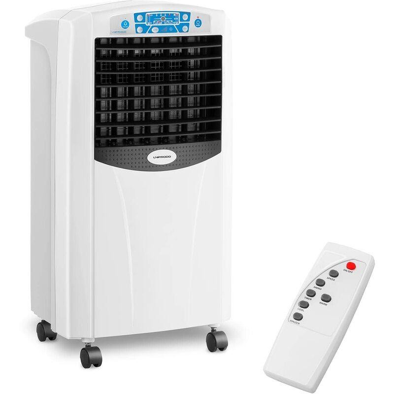 Uniprodo Raffrescatore Ad Acqua Portatile Raffrescatore Evaporativo Serbatoio 6 L 5 In 1