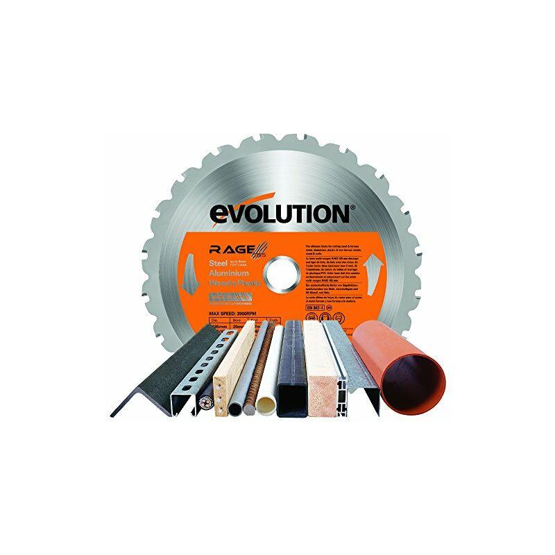 Image of RAGE 185mm Multi-Purpose Circular Saw Blade - Htc Evolution