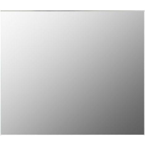 Rahmenloser Spiegel 80x60 cm Glas