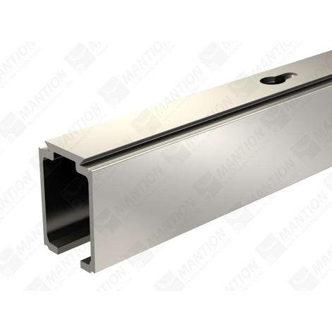 Rail alu pour SAF40/SAF80 MANTION pour porte 40/80kg - L.3 m - 11108/300