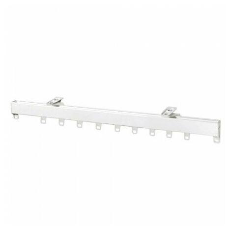Rail aluminium p950 sans cordon 1,50 mètre blanc