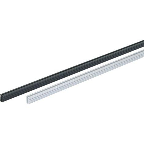 Rail argent SlideLine 56 HETTICH - L.6000 mm - 46788
