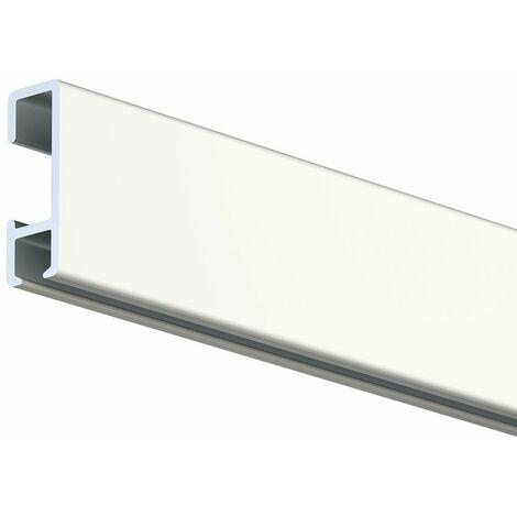 Rail cimaise Artiteq Click Rail - blanc laqué (RAL9010) - 0.9 - blanc laqué (RAL9010)