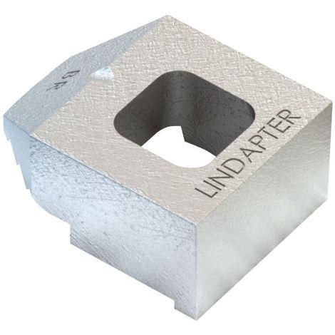 Rail clip Malleable iron Zinc plated BR short