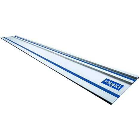Rail de guidage SCHEPPACH pour scies plongeantes CS55 - PL55 et PL75 - 1400mm - 4901802701
