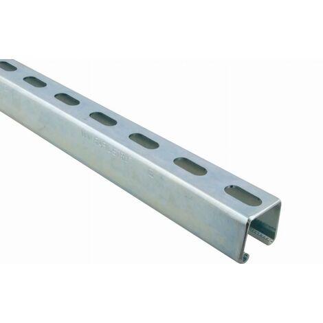 Rail de montage WALRAVEN BIS RapidStrut - 41 x 41/2.0 mm - Barre de 2 mètres - 6505242